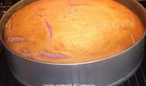 Gâteau soufflé aux mûres sauvages