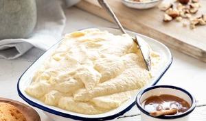 Mousse glacée à la vanille