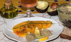 Guacamole aux sardines