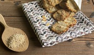 Biscuit quinoa- amandes