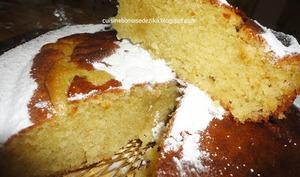 Gâteau au beurre de cacahuètes et au yaourt