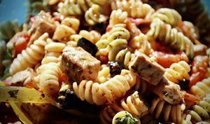 Salade de pâtes à la sicilienne