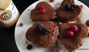 Mini cakes au beurre de cacahuètes et chocolat