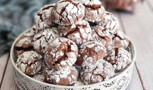 Craquelés à la Poudre de Flan au Chocolat