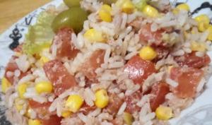 La salade de riz à la provençale