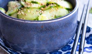 Concombre à la japonaise