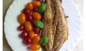 Filets de maquereaux au parmesan et paprika