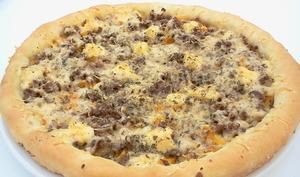 Pizza viande hachée
