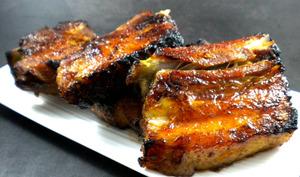 Spare ribs caramélisés au sirop d'érable