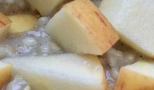 Porridge aux saveurs d'automne