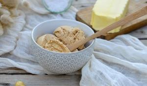 Glace au caramel beurre salé