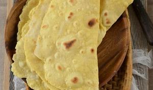 Tortillas à la farine de maïs