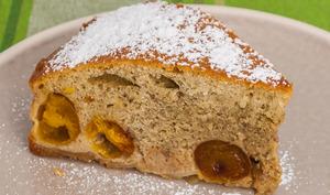 Gâteau vosgien aux mirabelles