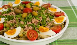 Salade estivale de pommes de terre et haricots verts