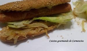 Petits pains hot dog à la farine de blé Bio semi complète