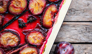 Prunes rôties aux épices