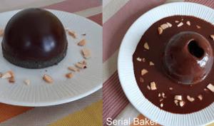 Dôme en chocolat surprise