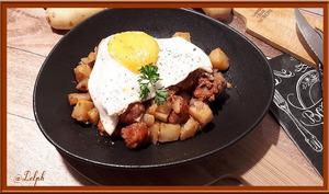 Pommes de terre et Chorizo