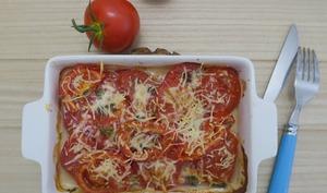 Gratin de tomates à la cancoillotte