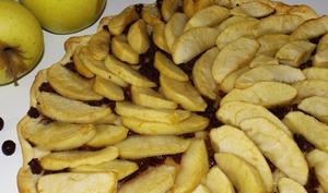 Tarte aux pommes et aux cenelles