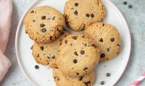 Cookies au petit épeautre et pépites de chocolat