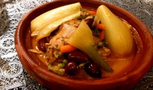 Tajine de poulet au Fenouil à la marocaine