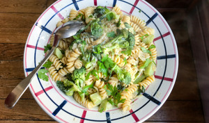 Creamy brocoli pasta
