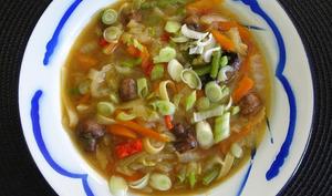 Soupe chinoise aux choux
