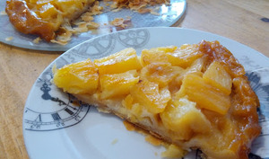 La tarte tatin à l'ananas