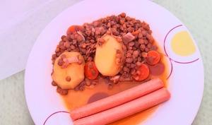 Lentilles aux saucisses