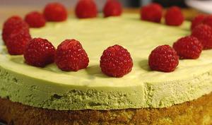 Gâteau nuage à la pistache