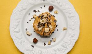 Muffins healthy et gourmand au beurre de cacahuètes