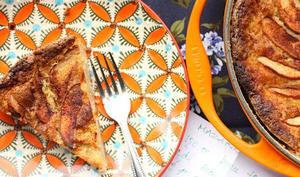 Gâteau mazarin aux coings