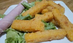Les frites de butternut panées