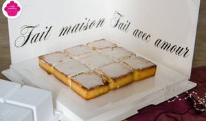 Gâteau Nantais sans lactose
