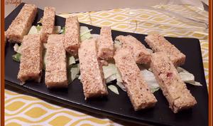Bâtonnets de cake moelleux