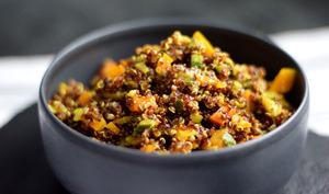 Curry de quinoa