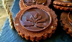 Sablé chocolat noisettes