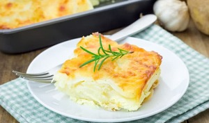 Gratin dauphinois au fromage blanc