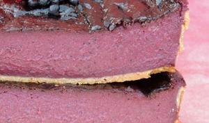 Flan pâtissier myrtille cassis framboise