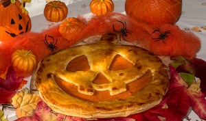Pumpkin Pie pour Halloween
