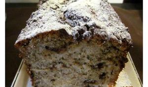 Cake au yaourt poires et chocolat