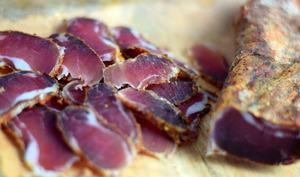 Viande séchée pour l'apéritif
