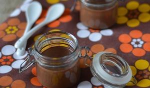 Crème chocolat, cardamome et orange