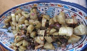 Patate douce rôtie et ses douces saveurs