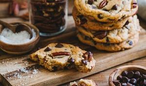 Cookies aux noix de pécan et pépites de chocolat