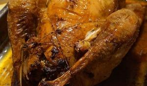 Poulet rôti croustillant au four