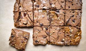 Brownie au caramel beurre salé