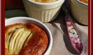 Amandines vanillées aux pommes