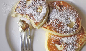 Pancakes au fromage